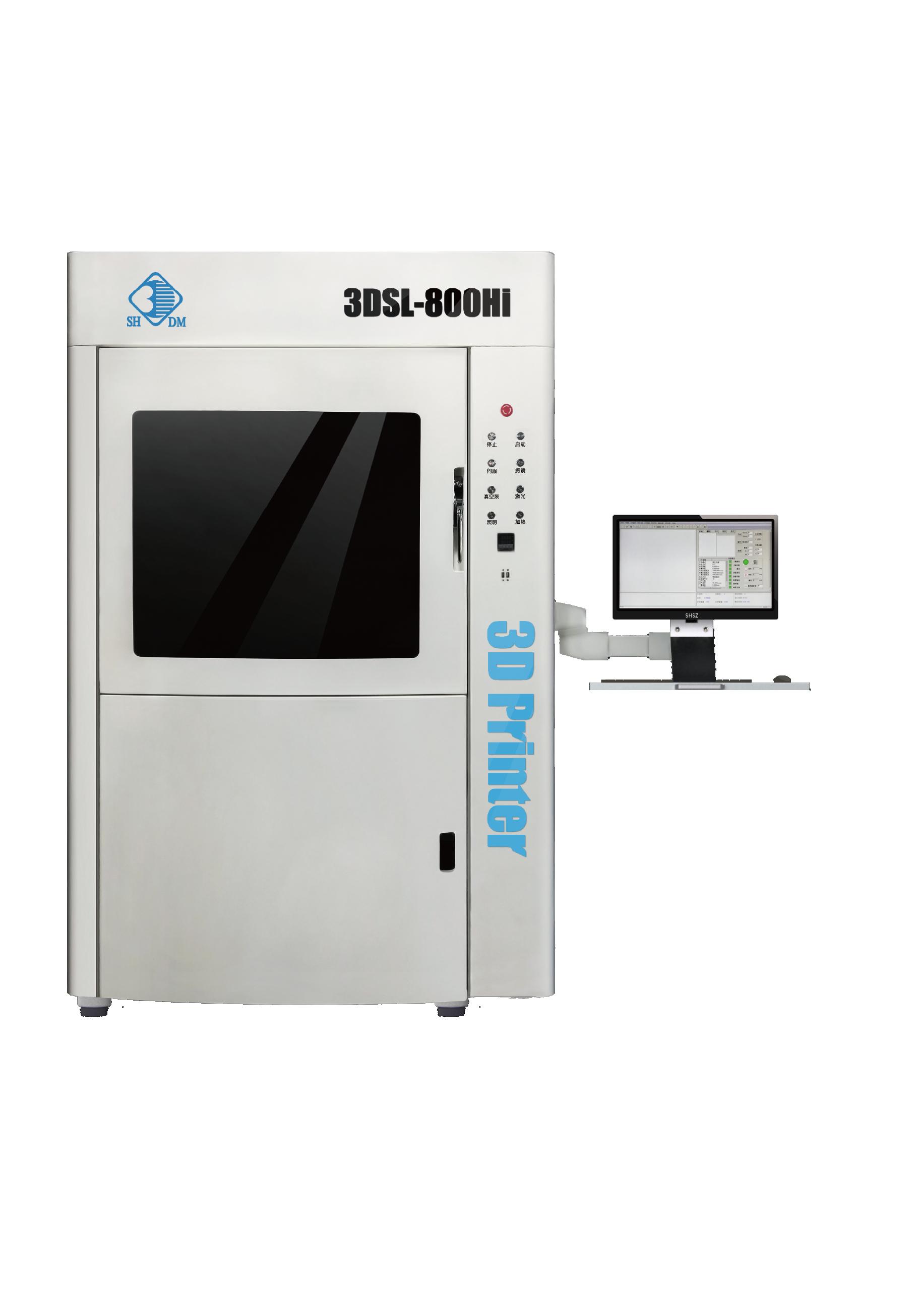 Large industrial 3D printer-3DSL-800Hi