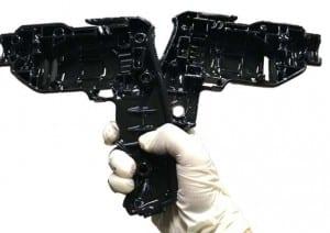 Print material- black resin- NH-S08